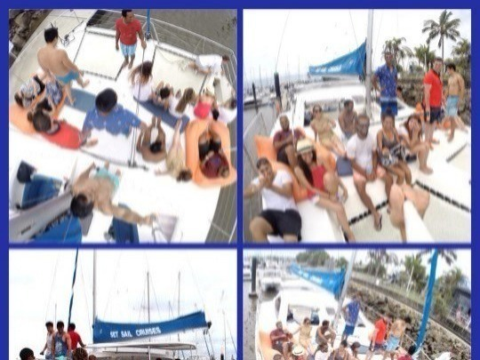 Hire the vessel for your exclusive use with a Private Charter. We provide the catamaran & crew. You bring up to 20 people, food, drinks & music.